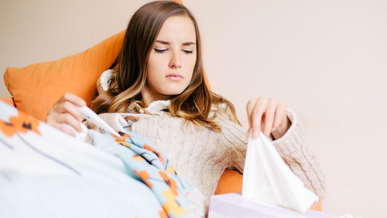 Odpoczynek pomaga na przeziębienie