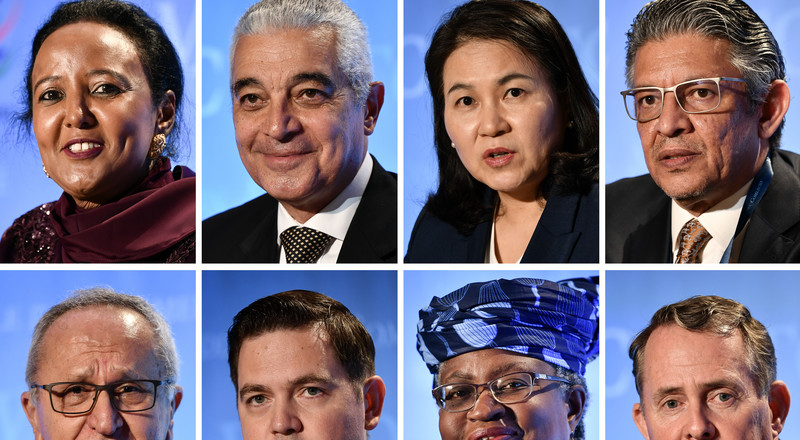 Ex Nigerian Finance Minister Ngozi Okonjo-Iweala and Kenyan minister Amina Mohamed advance to the second round of WTO leadership race
