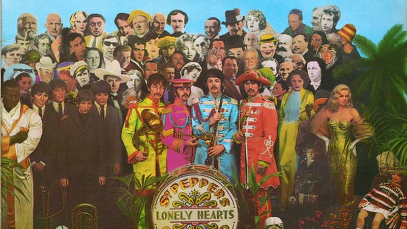 "1. The Beatles - ""Sgt. Pepper's Lonely Hearts Club Band"""