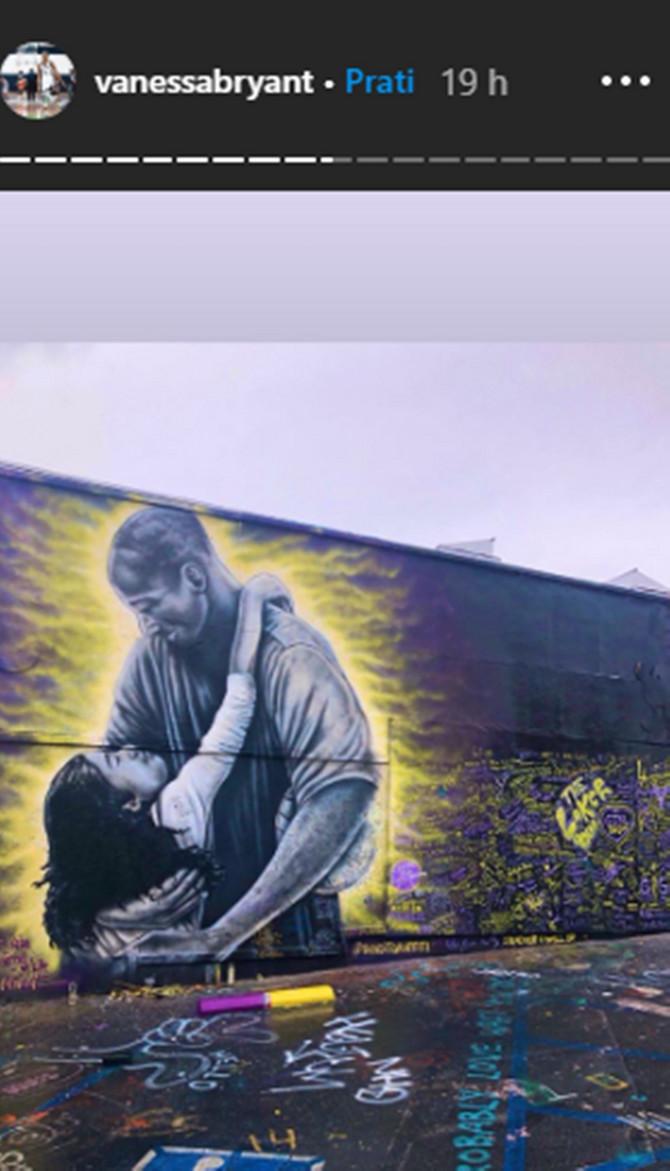 Mural posvećen Kobiju Brajantu