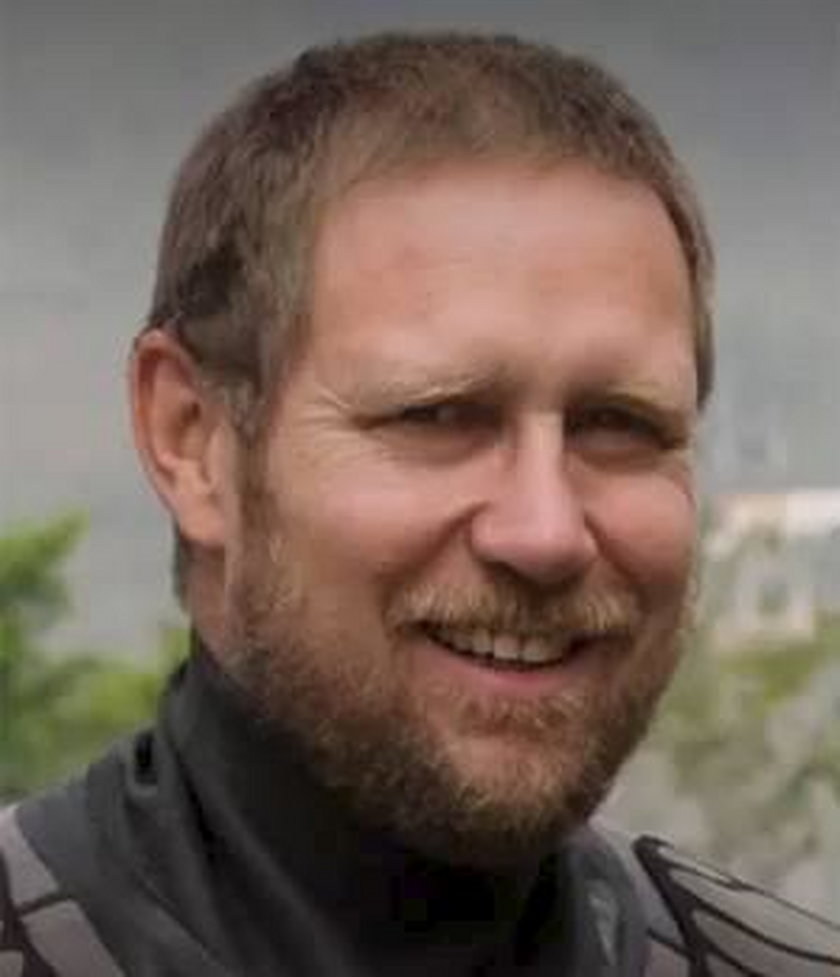 Australijski lekarz i nurek Richard Harris