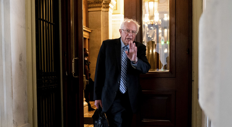 Sanders Argues He Has 'Narrow Path' and Says He Wants to Push His Issues