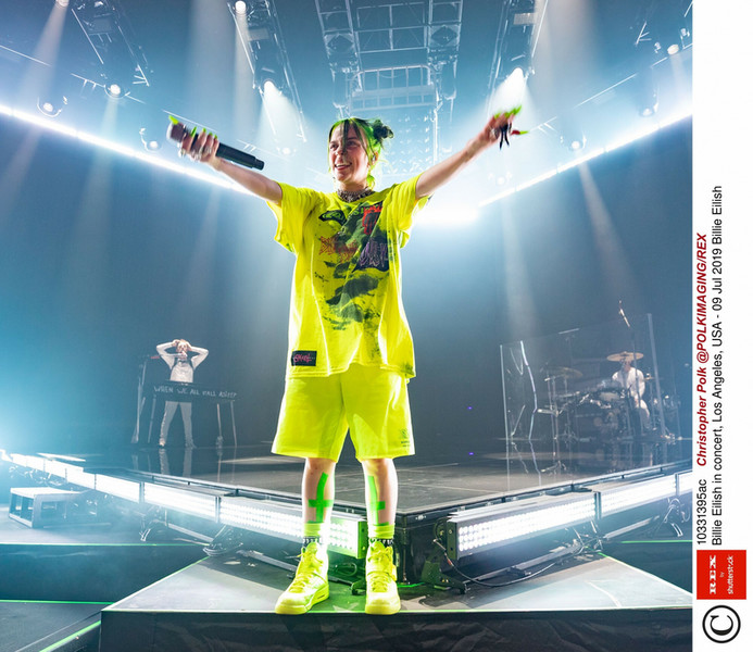Billie Eilish has created a bold and very eccentric style