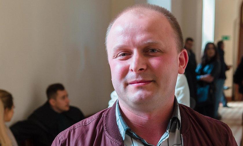 Dariusz Kądziela (29 l.), kierowca autobusu
