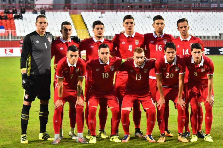 Mlada reprezentacija Srbije fudbal