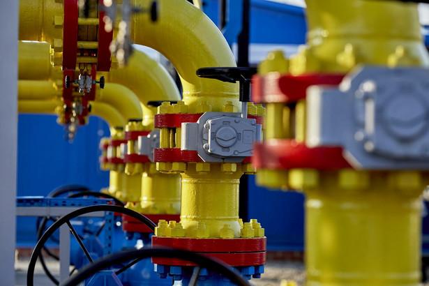 Instalacje gazowe należące do PGNiG w Kokorzynie.