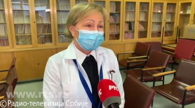 Dr Gordana Krtinić o nultom pacijentu u Srbiji