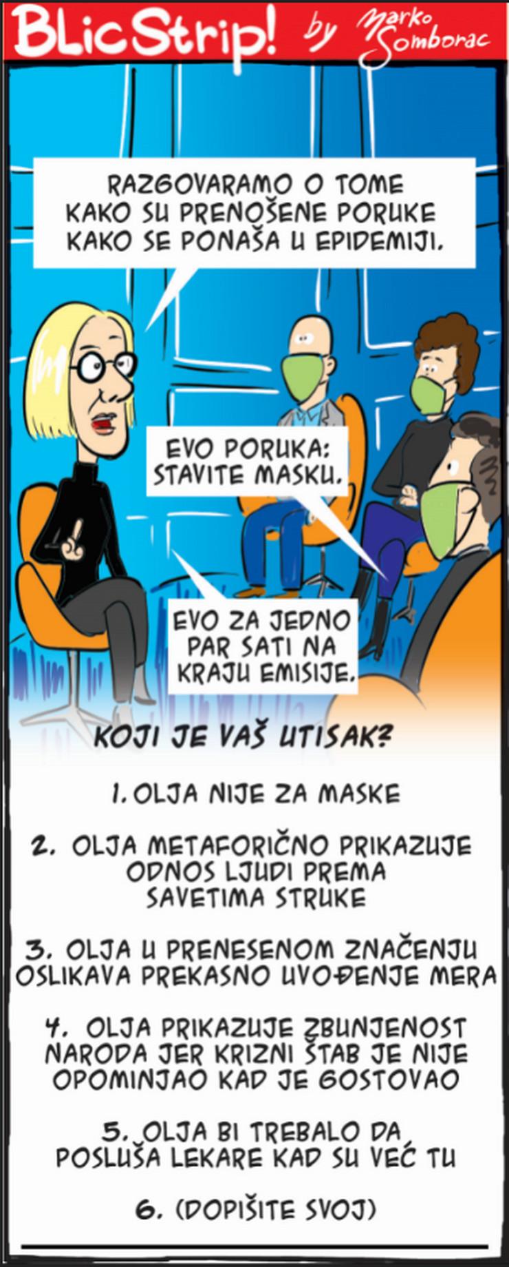 Blic strip za 13.12.2020.