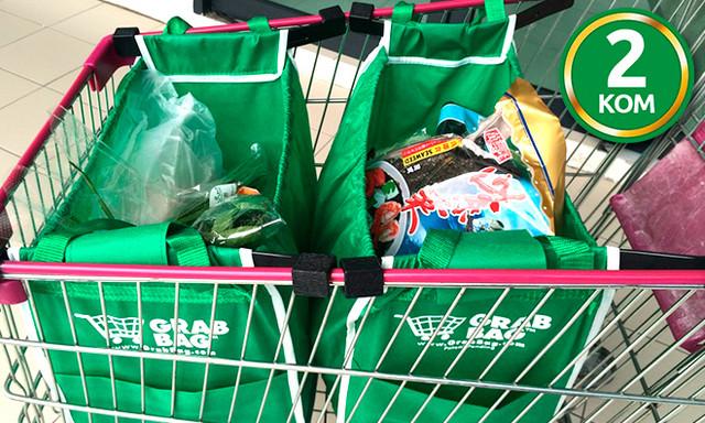 Dve torbe za kupovinu Grab and bag