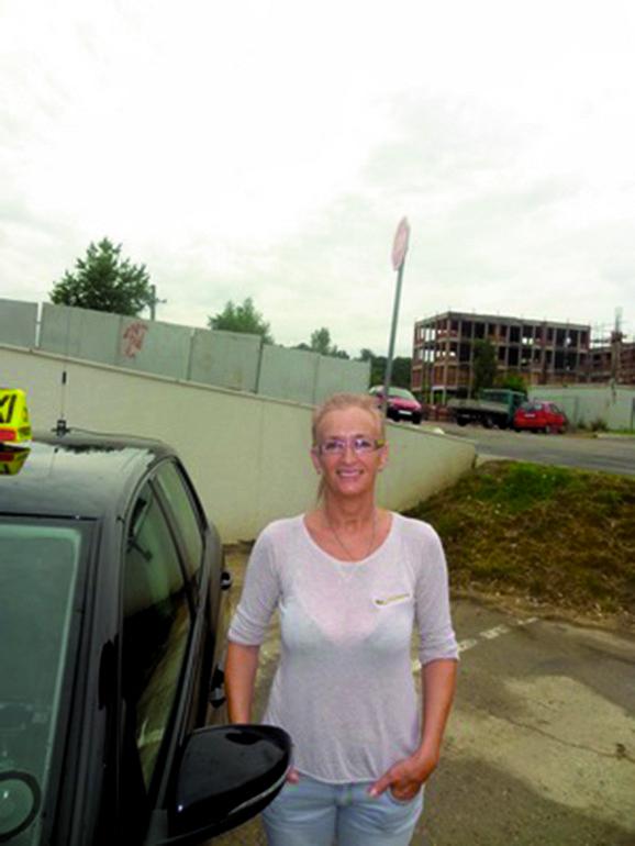 Ljiljana je skoro dve decenije za volanom