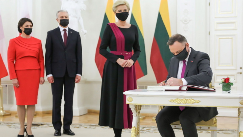Pierwsze pary Litwy i Polski