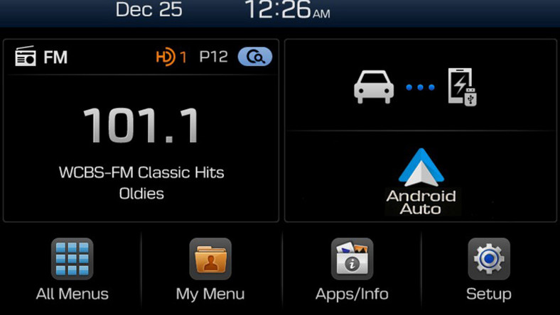 Hyundai Display Audio