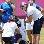 STRAŠNE SCENE NA OLIMPIJSKIM IGRAMA Ruska sportistkinja se srušila nasred takmičenja, ovo je bio razlog!