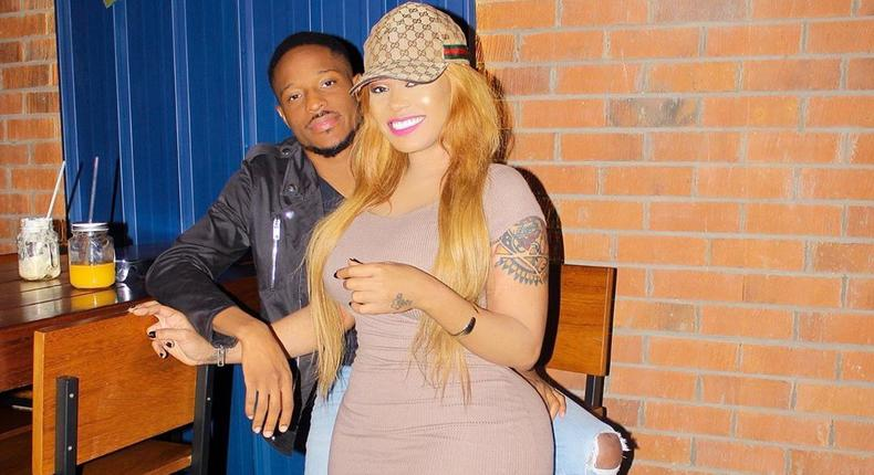 Vera Sidika with her new boyfriend Jimmy Chansa,