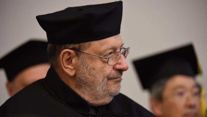 Umberto Eco odebrał tytuł doktora honoris causa Uniwersytetu Łódzkiego