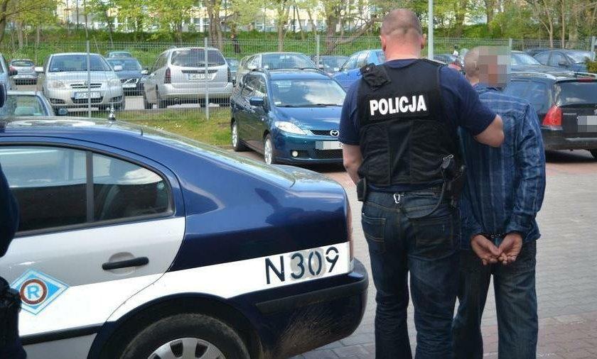 Agresywny Francuz pobił kobietę z niemowlakiem na rękach w Sopocie