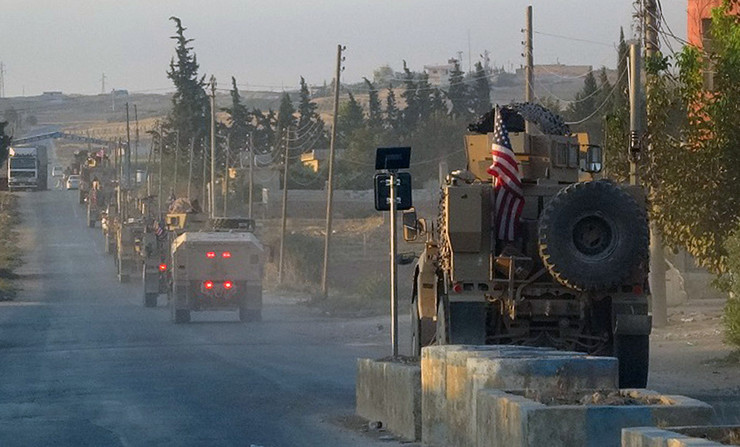 Američka vojska, Sirija