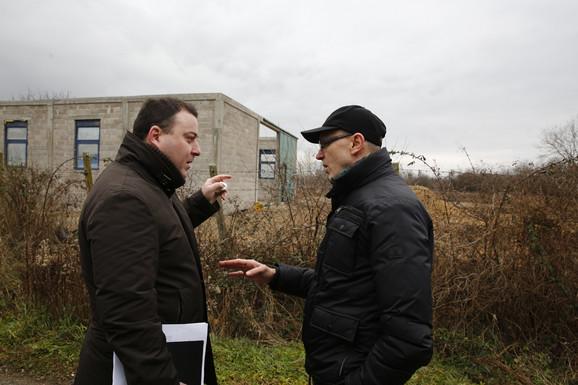 Goran Trivan (desno) i Miroslav Čučković