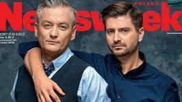 """Robert Biedroń z partnerem na okładce """"Newsweeka"""". """"Chcą nas zastraszyć"""""""