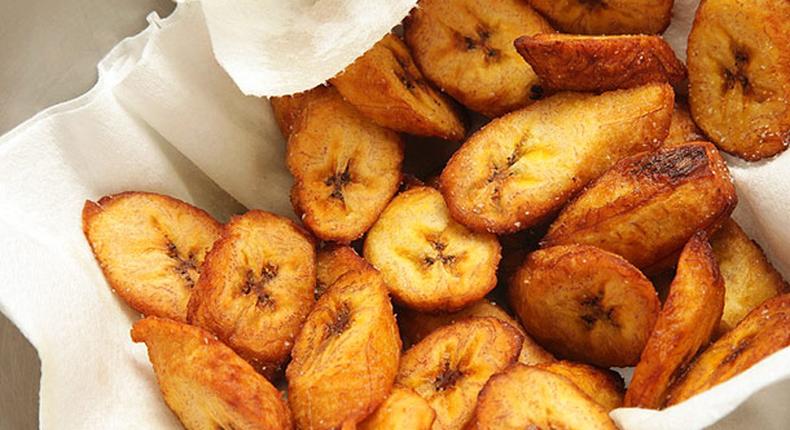 Fried plantains(jess-kitchen)