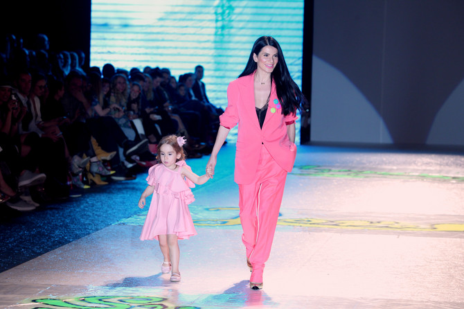 Aleksandra sa ćerkom Anom