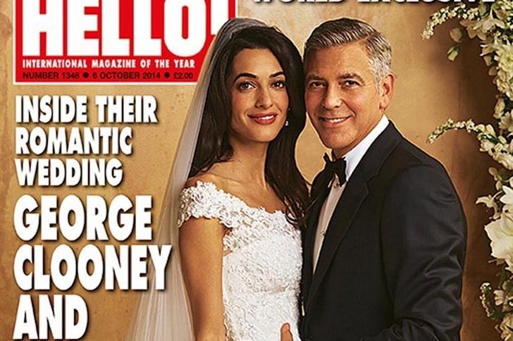 żona Georga Clooneya Miała Suknię ślubną Za Milion Dolarów