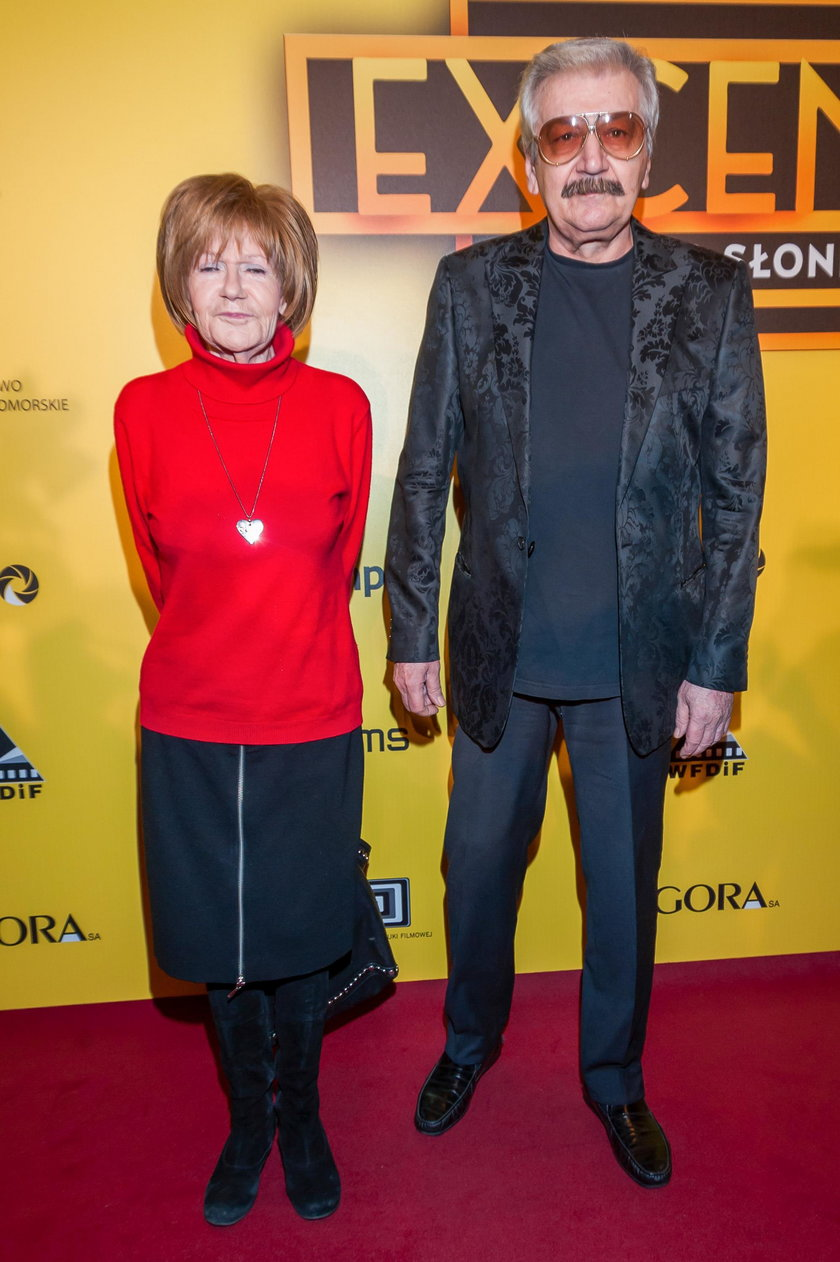 Maria Czubaszek i Wojciech Karolak