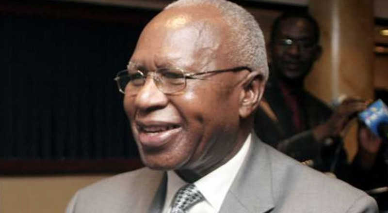 Simeon Nyachae is not dead, family discloses his condition