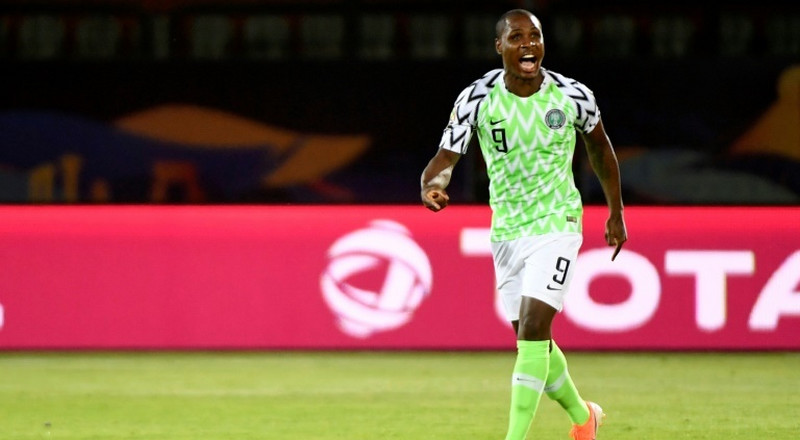Manchester United striker Odion Ighalo hints at Super Eagles return