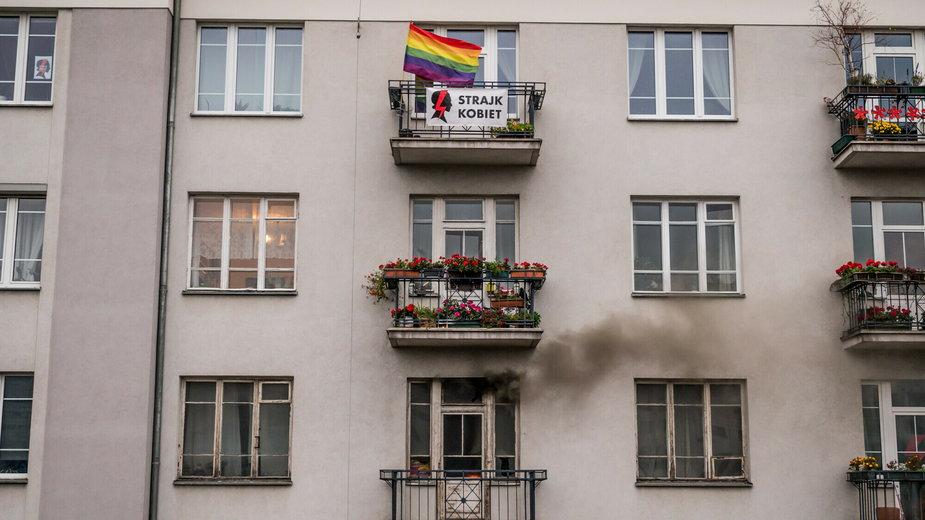 Akt oskarżenia dla sprawcy pożaru na Marszu Niepodległości