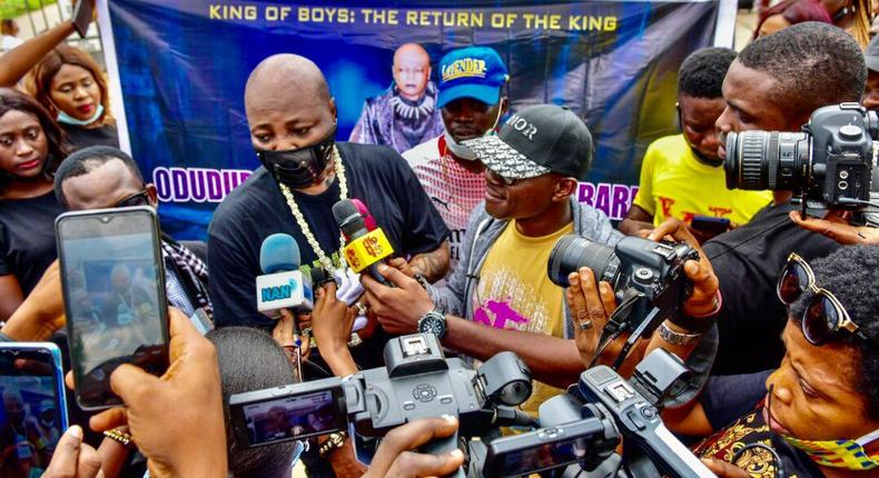 The music veteran advises young Nigerians not to shy away from politics.