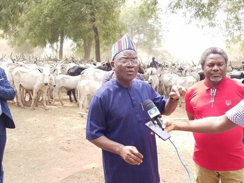 Governor Samuel Ortom couldn't cope with the herders in Benue (The Nation)