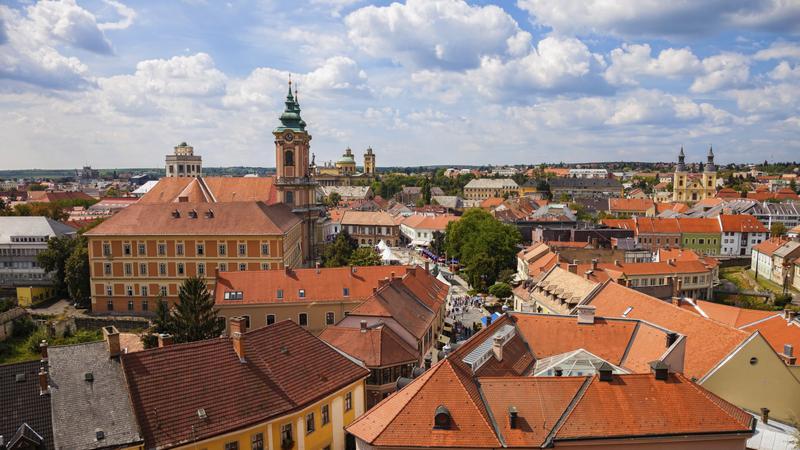 Eger, panorama miasta