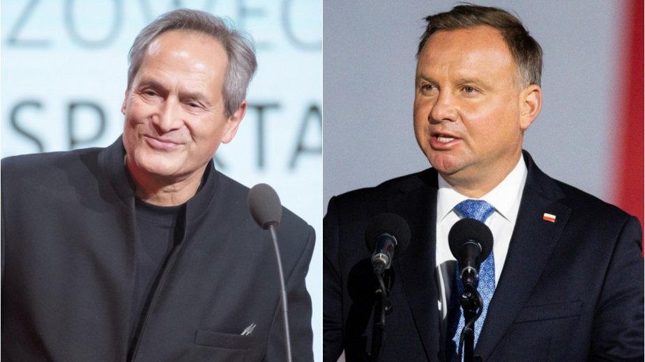 Jerzy Zelnik i Andrzej Duda