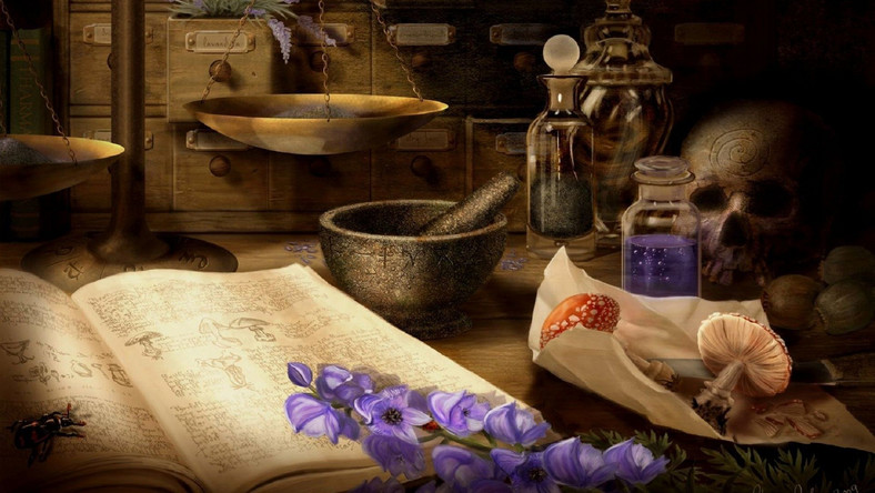 Witchcraft potions and spells