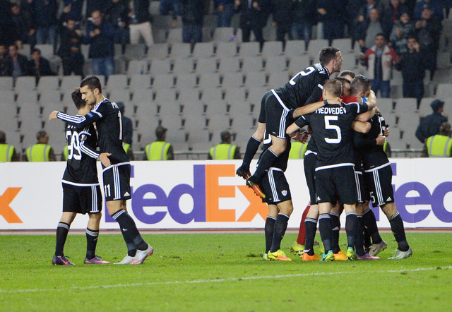 Slavlje fudbalera Karabaga
