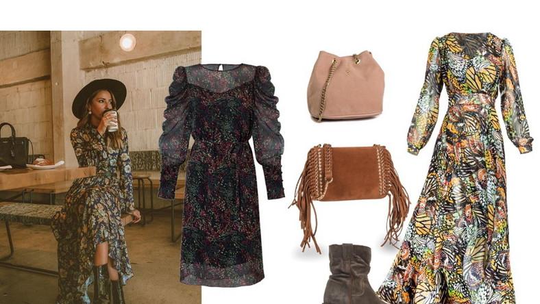 NA ZDJĘCIU: sukienka mini - Cotton Club/cottonclub.pl, torebki, buty - Menbur/menbur.pl, sukienka - Cosel/cosel.moda