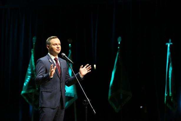 Andrzej Duda podczas Krajowego Zjazdu Adwokatury