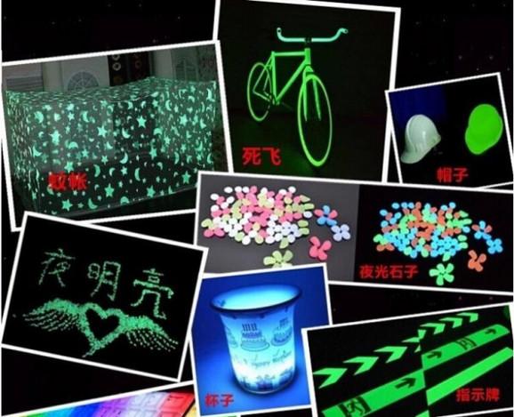 Set od 5 fluorescentnih boja