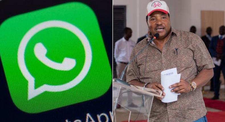 Chief Magistrate Lawrence Mugambi advises lawyers in Kiambu Governor Ferdinand Waititu's case to form WhatsApp group