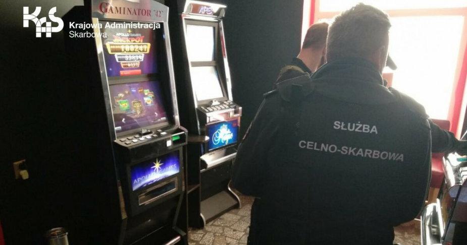 W Złocieńcu zlikwidowano kolejny nielegalny salon gier