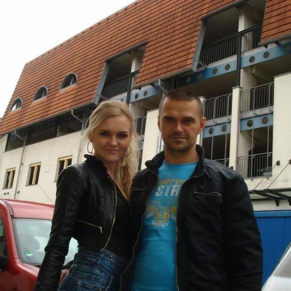 Dražen Dakić sa suprugom Ekatarinom