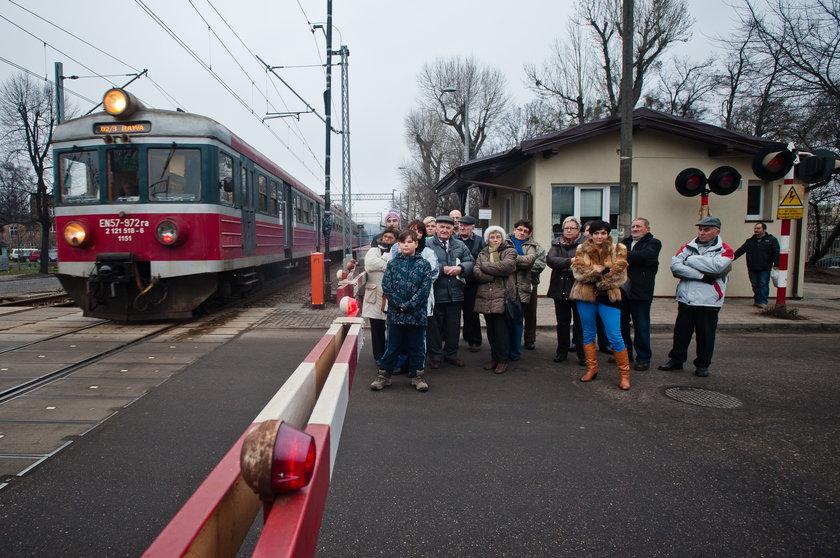 Przejazd kolejowy na ul. Dworcowej na Oruni