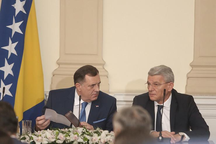 Milorad Dodik i Šefik Džaferović