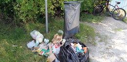 Zakrzówek i Skałki Twardowskiego toną w śmieciach