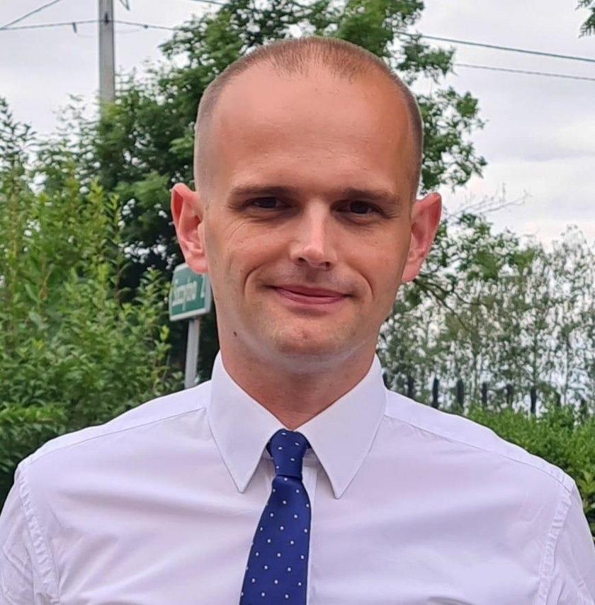Sylwester Ziemkiewicz (37 l.), wójt Radzanowa