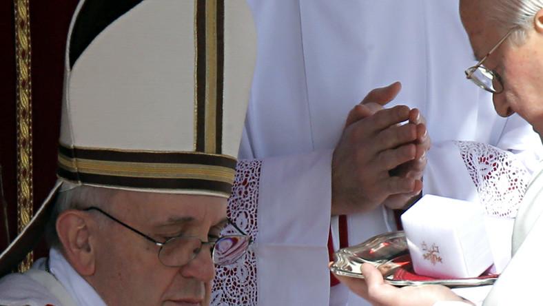 Niespotykany gest papieża