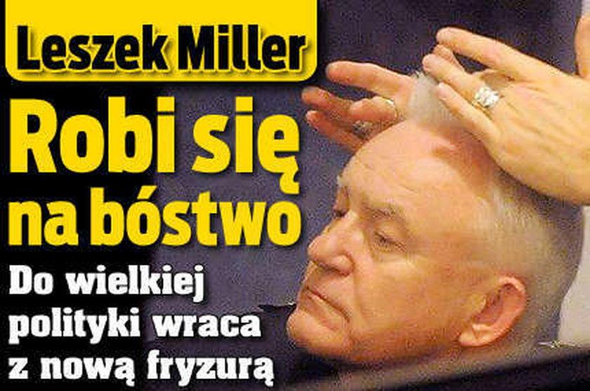 Leszek Miller po liftingu! FOTO