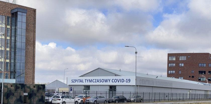 W szpitalu na Rakietowej najwięcej pacjentów z Dolnego Śląska
