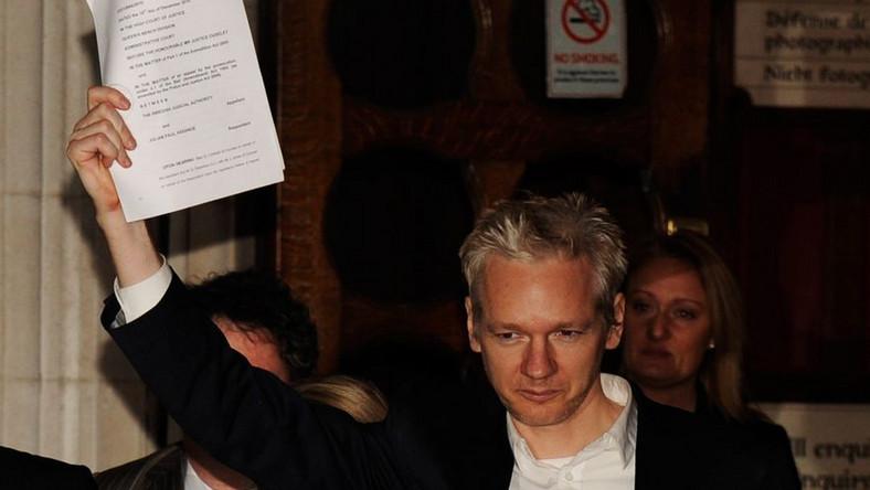 Jest chętny, który wyda książkę szefa Wikileaks